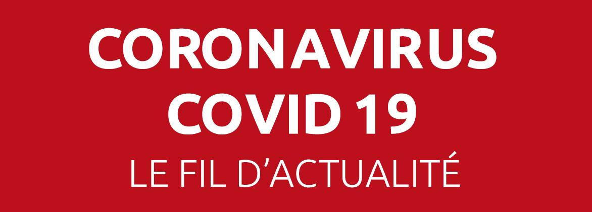 Covid-19 fil d'actualité à Dompierre