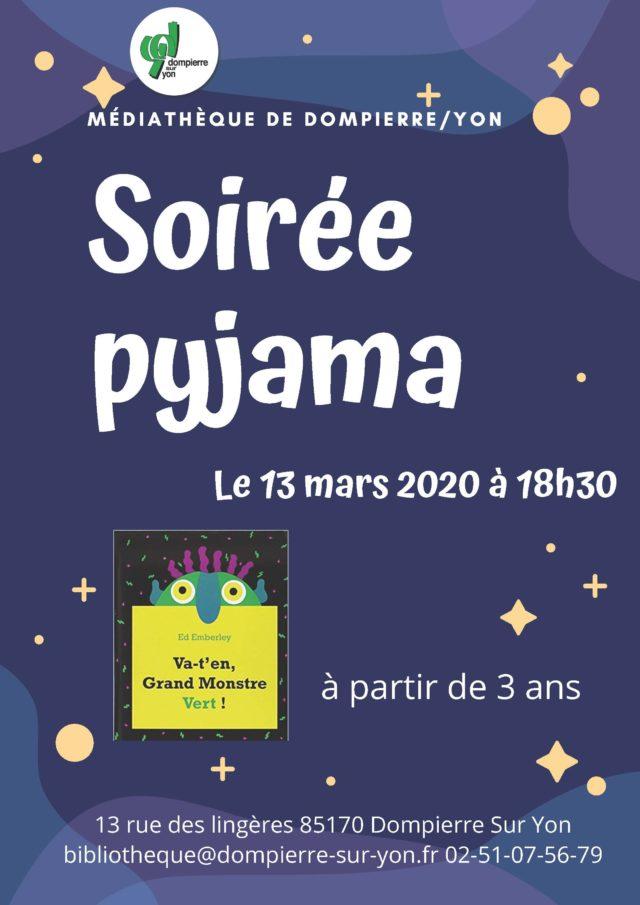 13 mars 2020 _ soiree pyjama