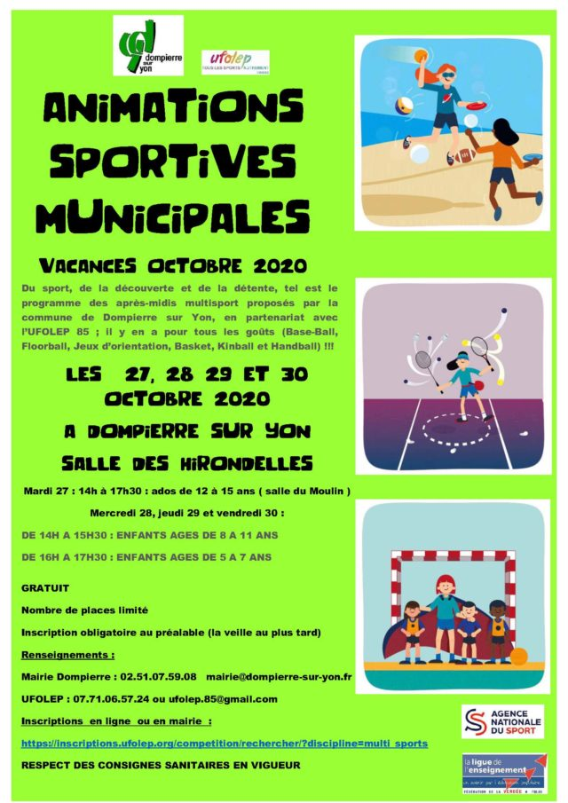 Animations sportives municipales